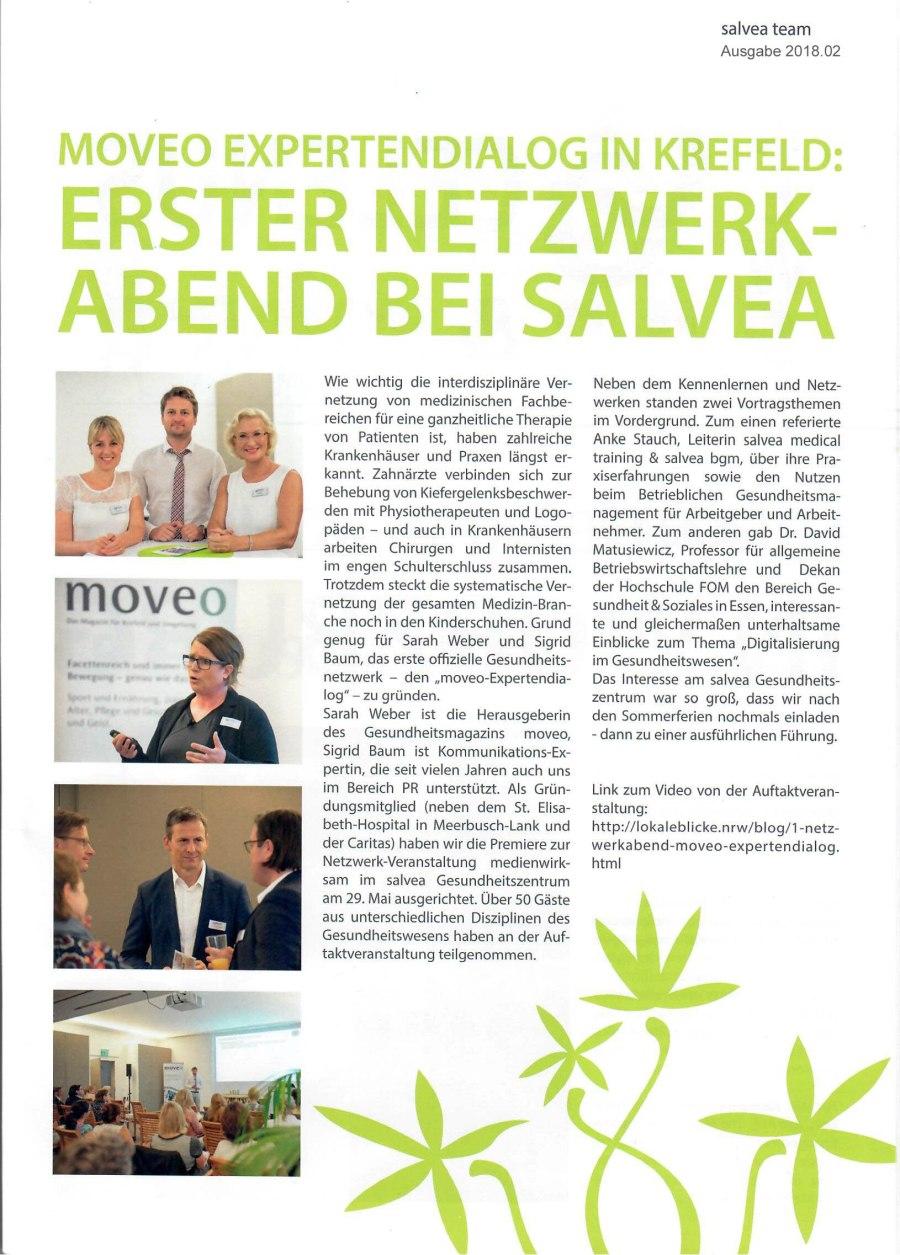salvea - salvea team - moveo Expertendialog in Krefeld